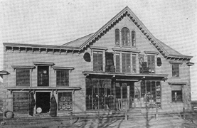Store of J.L. Black and Sons, Middle Sackville, N.B.