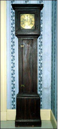 Harper Tall Case Clock at Kings Landing Historical Settlement (M96.28.1)