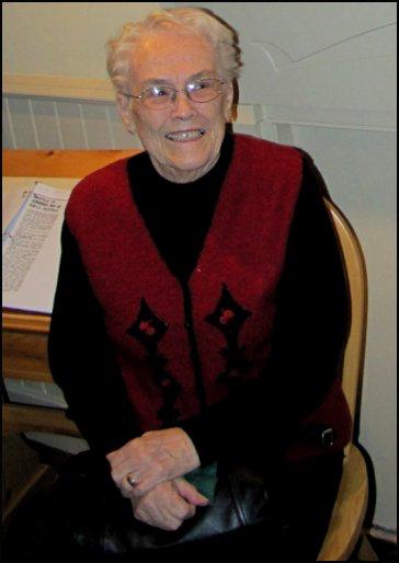 Joe's wife, Pauline Atkinson