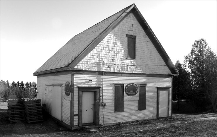 West Sackville School in Westcock (now serving as a warehouse facility)