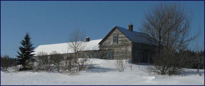 The Rupert Delesdernier house in Lower Rockport