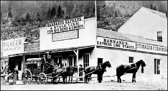 Barnards Express at Yale, BC