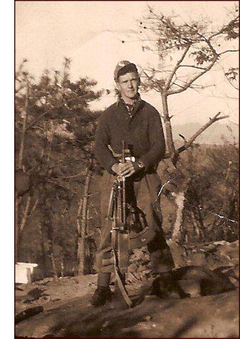 Stanley Arthur Ward, Royal Canadian Regiment, Korea, 1952. (C. MacKinnon collection)