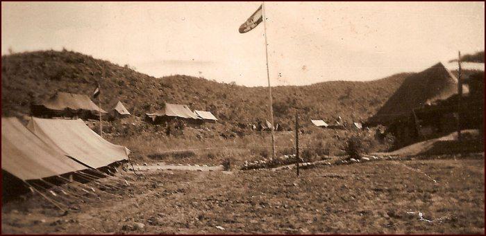Base camp, A Echelon — behind the lines, Korea 1952. (C. MacKinnon collection)