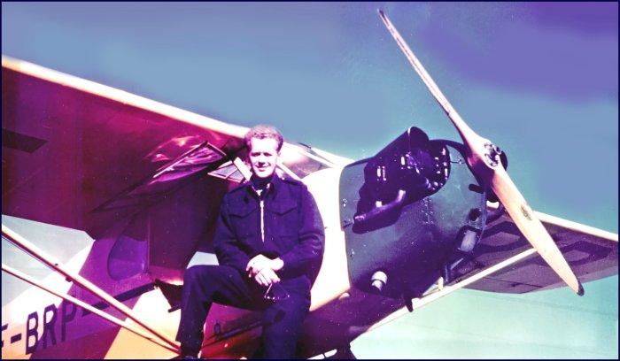 Pilot John A. MacNeil, owner of Tantramar Air Services