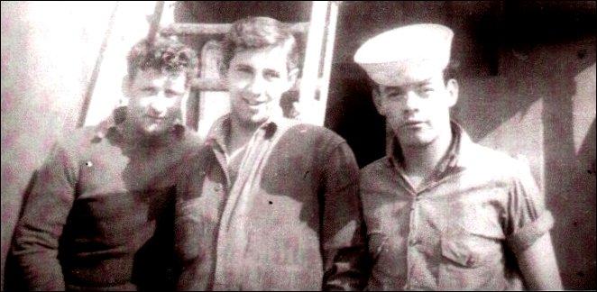 Crew aboard the HMCS Georgian