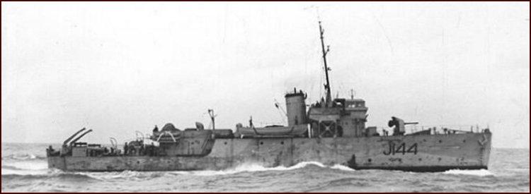 BANGOR class minesweeper the HMCS Georgian (J144)