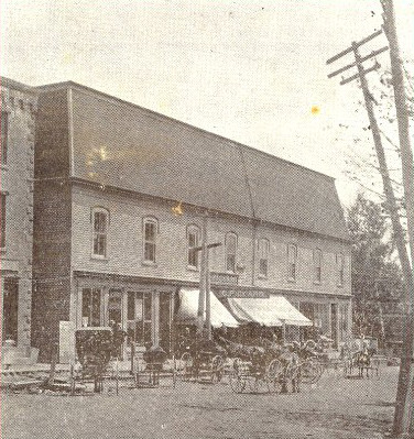 Sackville Music Hall, 1895