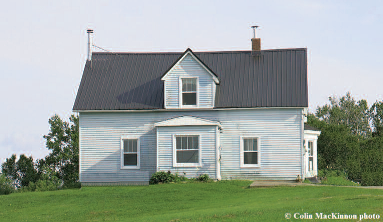 Homestead of Joseph and Mary Jane Read in Frosty Hollow, New Brunswick
