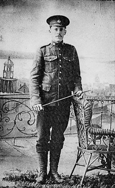 Photograph of Sergeant William Chase Bowser