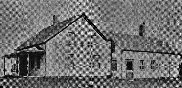 Photograph of old farmhouse known as Squires in Rockport, New Brunswick
