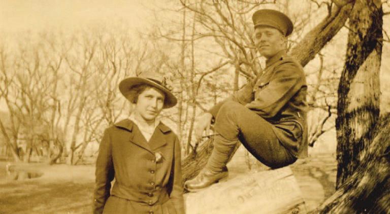 Photo of Lillian Crossman and Arlington Ward