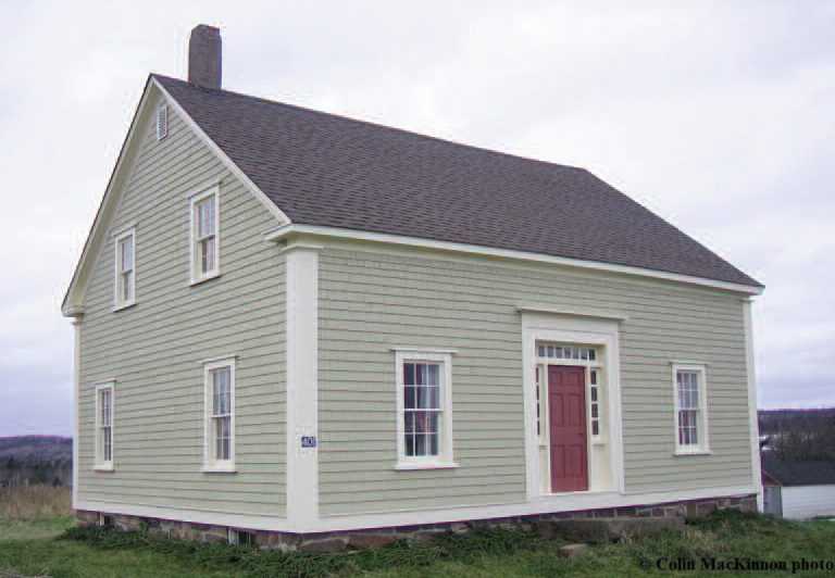 Photo of old McKinnon home in Woodpoint, NB