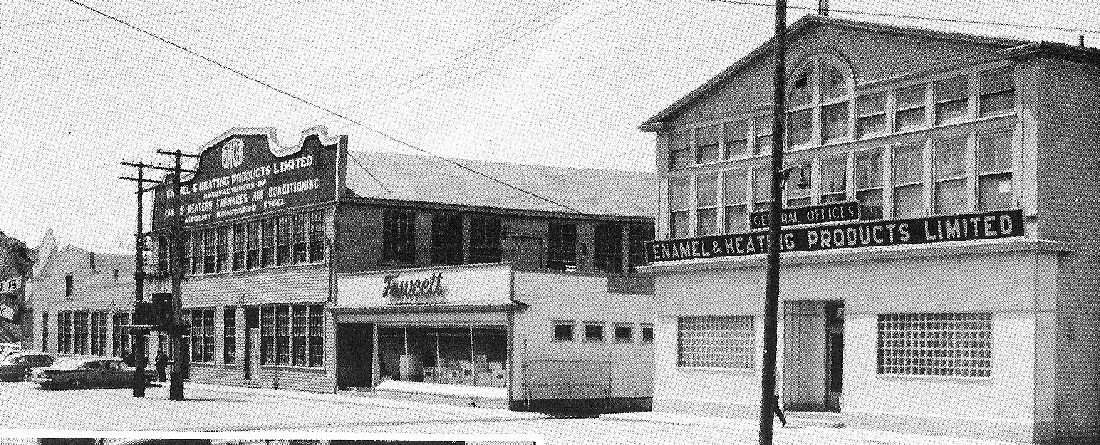 Photo of Fawcett Enamel and Heating Foundry, circa 1965