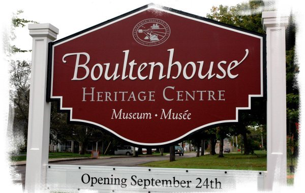 Boultenhouse Heritage Centre Museum sign