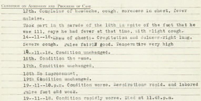 War records for Private Lloyd Estabrooks