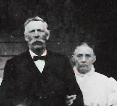 Photo of George Washington Mitton and Frances Bowser