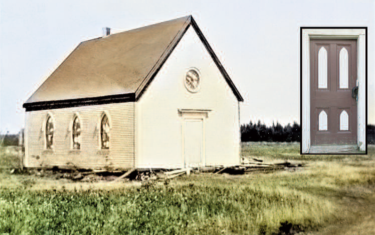 United Church in Fairfield NB