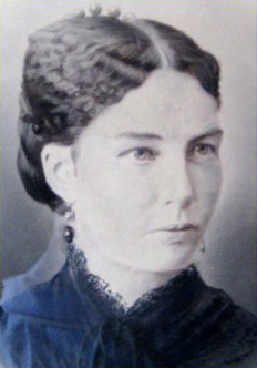 Lucy Black Ayer, first wife of J.R. Ayer