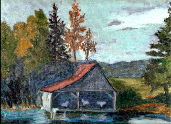 oil painting by Bessie McLeod