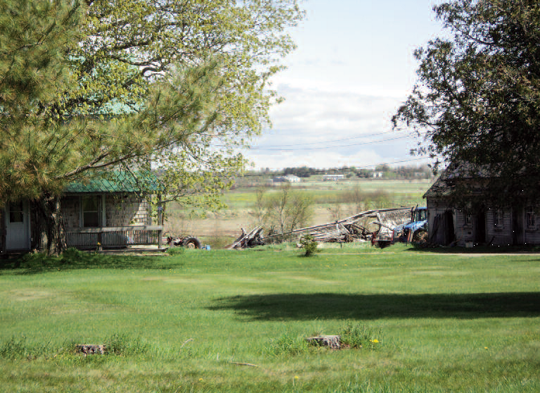 May 2018 photo of Purdy property