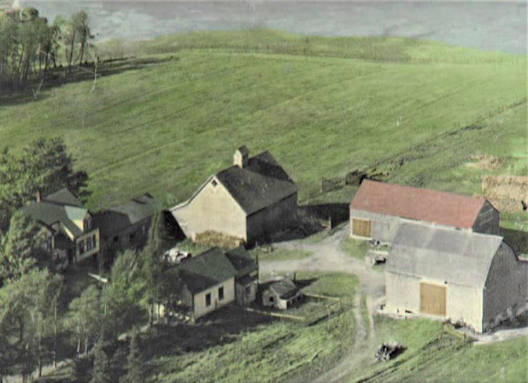Mid-1950s photo of the old Henry Purdy property