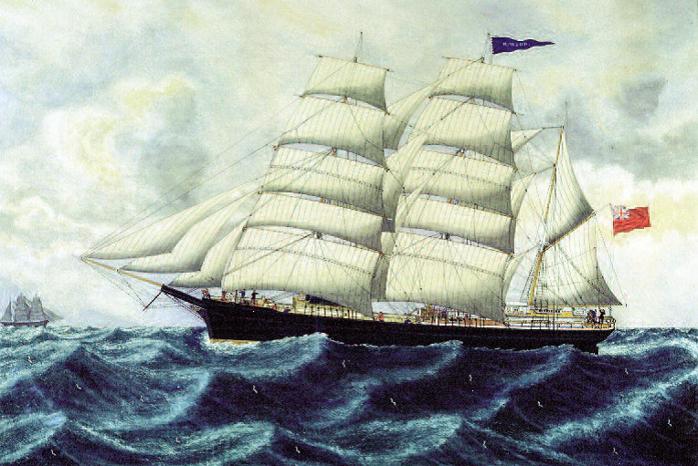 Painting of M. Wood Barque