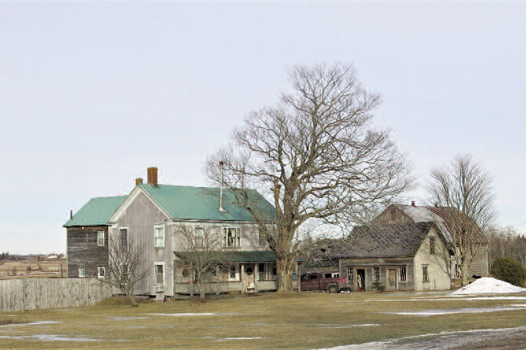 Former Henry Purdy house and grounds