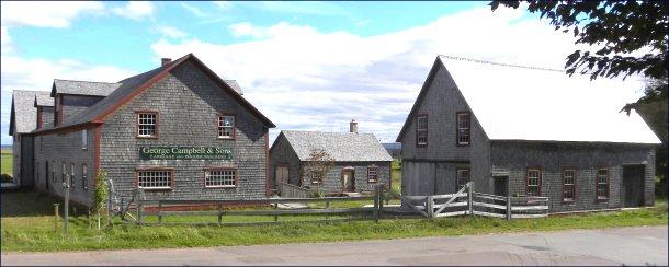 Campbell Carriage Factory, Sackville, New Brunswick
