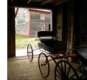 Campbell Carriage Factory exhibits