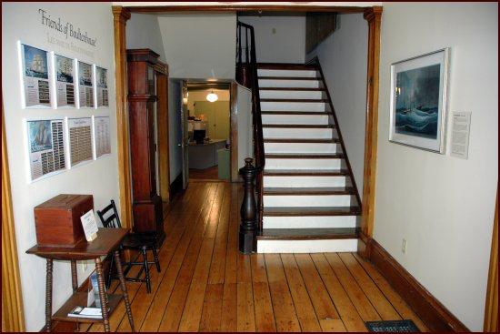 Museum hallway