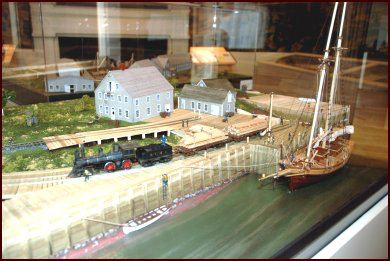 The Port of Sackville model
