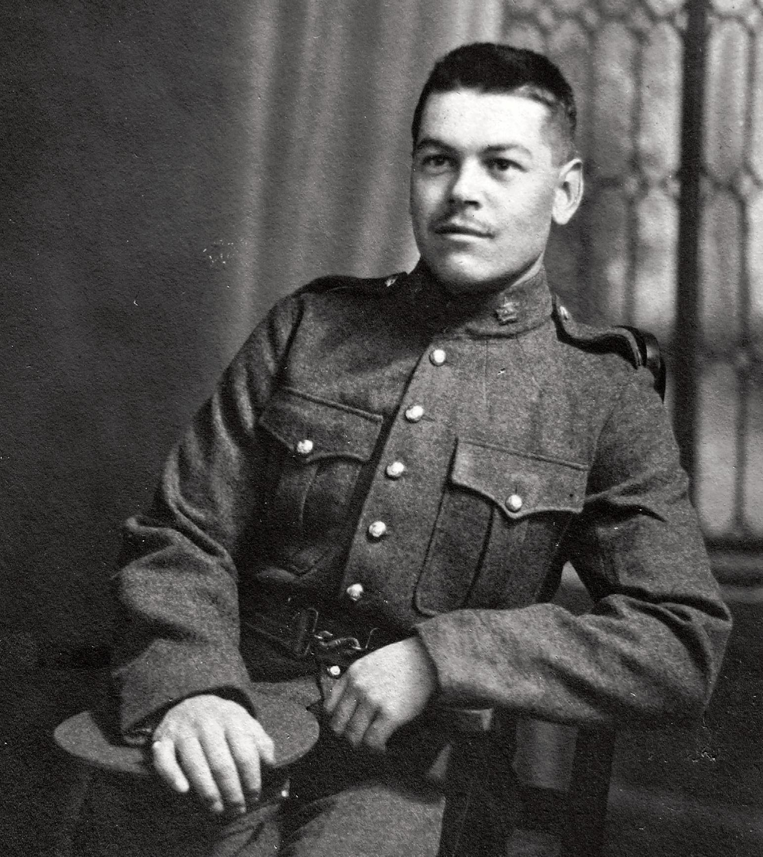 Norman Jesse Rogers in uniform, 1890-1940