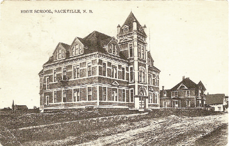 Sackville High School circa 1907