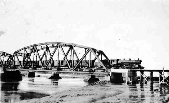 Train bridge in Sackville NB