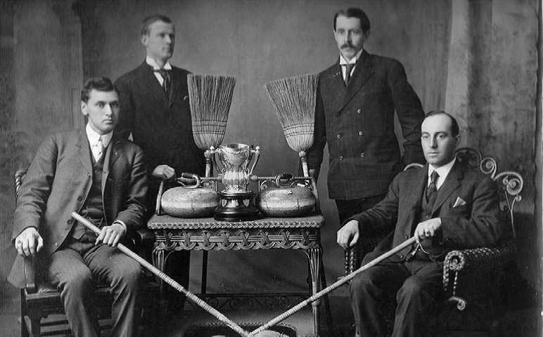 Sackville Curling Club members 1908
