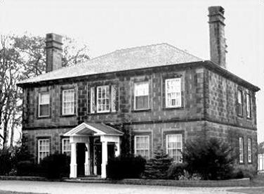 William Crane house in Sackville NB