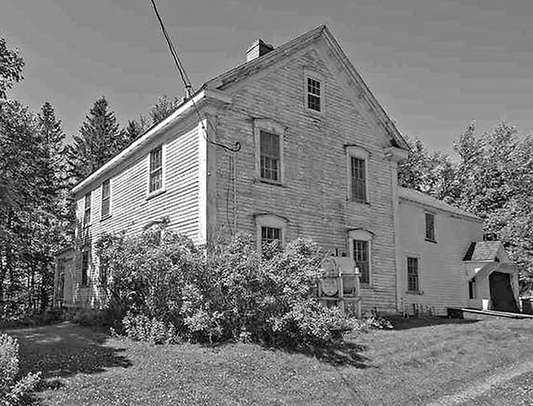 Job A. Seaman house in Minudie, NS
