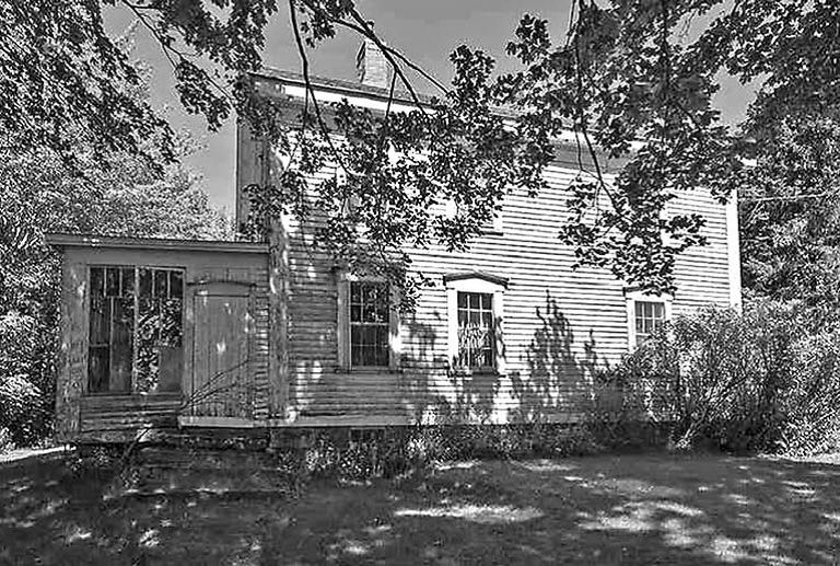 Job A Seaman house in Minudie, NS