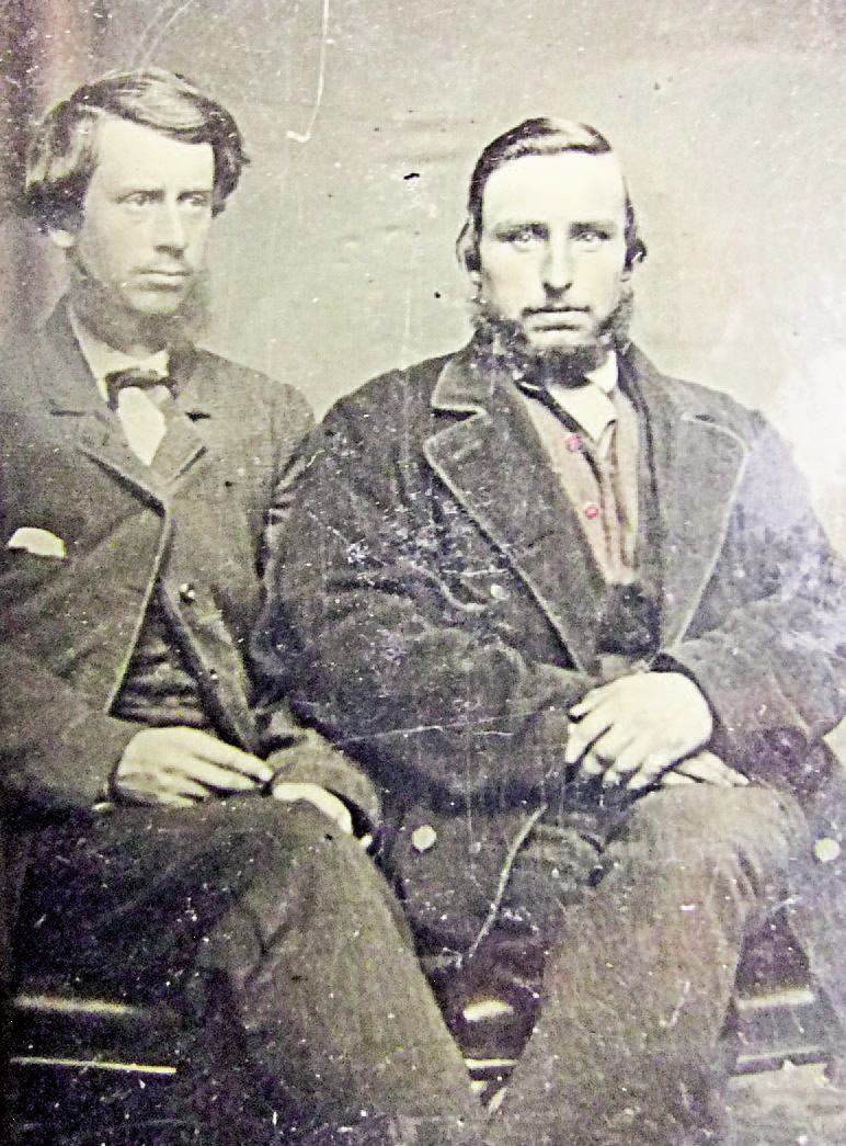 Photograph of brothers Charles and Gaius Anderson