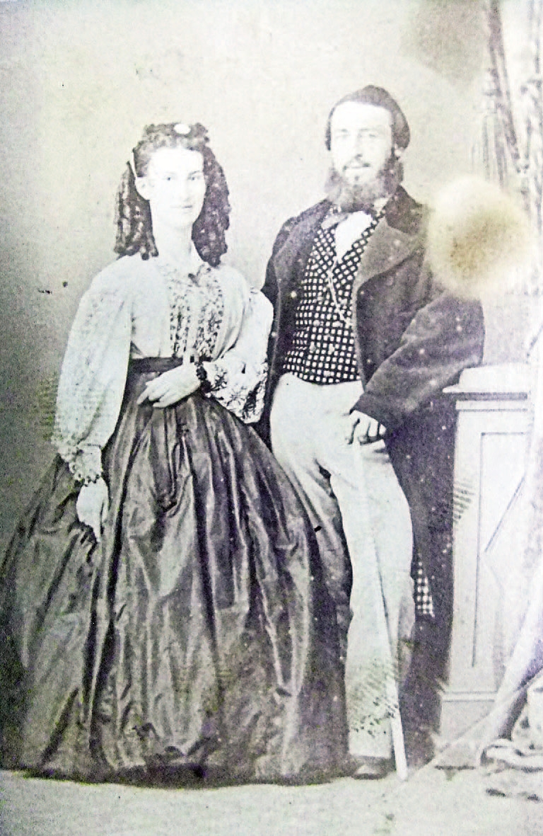 Photograph of Gaius and Emma Anderson